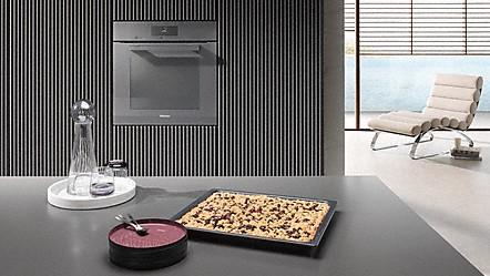 Cocina//Horno, Beige, Marr/ón Accesorio de hogar Miele HBS 60