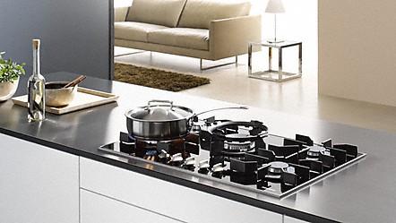Miele cocinas de gas y placas de gas de alta calidad de miele - Placas de cocina a gas ...
