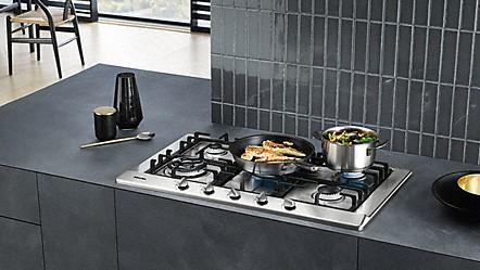 Miele cocinas de gas y placas de gas de alta calidad de miele - Placas de cocina de gas ...