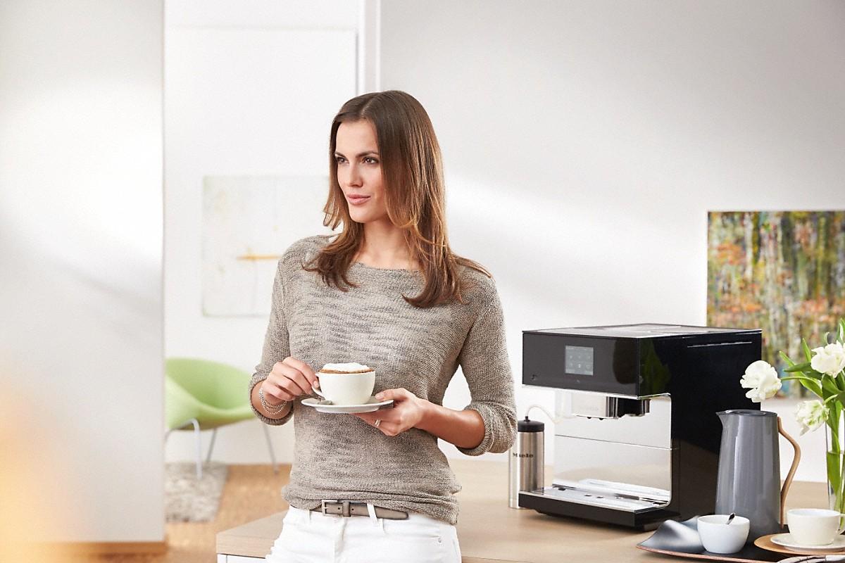 miele cm 7500 m quina de caf de libre instalaci n. Black Bedroom Furniture Sets. Home Design Ideas